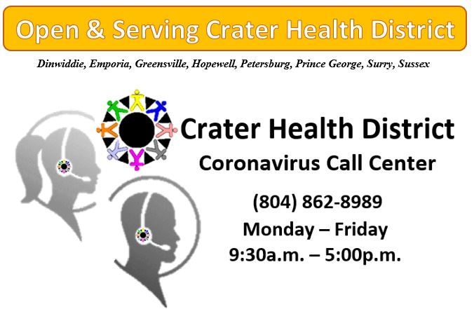 CHD Coronavirus Call Center