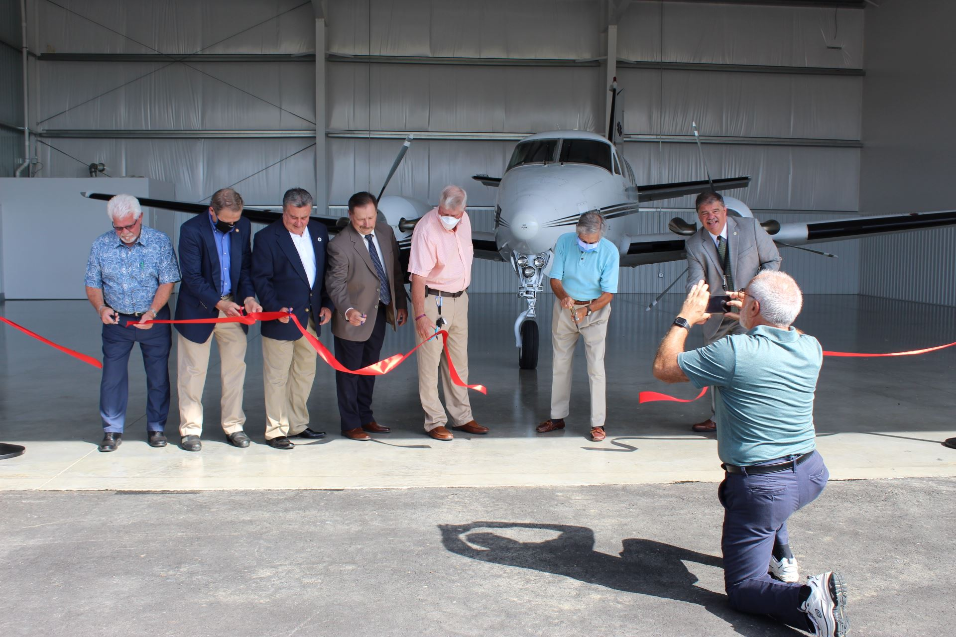 Airport Ribbon Cutting 7.8.20