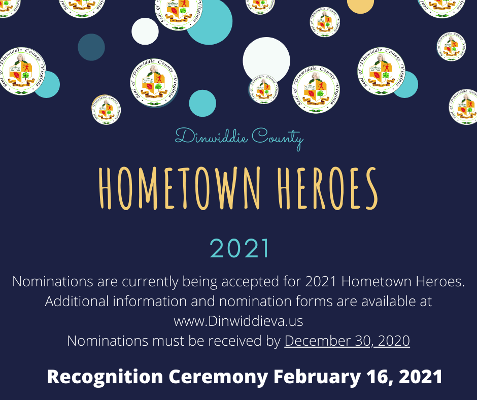 Hometown Heroes Infographic 2021