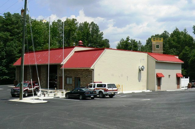 Namozine Volunteer Fire and EMS Station 4 building