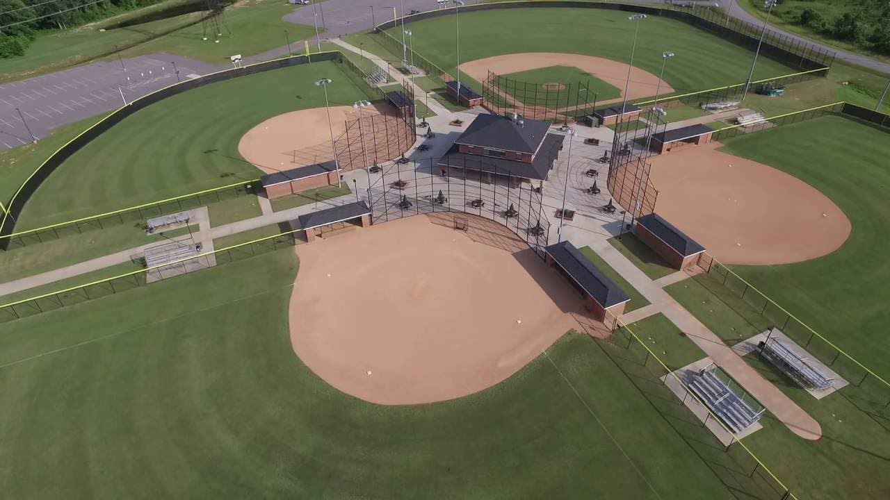 Dinwiddie Sports Complex Aerial